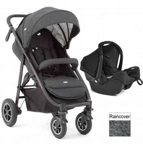 joie pavement grey mytrax travel system pushchair stroller gemm 0 car seat ebay. Black Bedroom Furniture Sets. Home Design Ideas