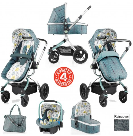 Cosatto Ooba 3 in 1 Combi Travel System - Fjord..