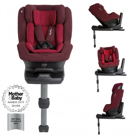 Nuna Rebl Plus Designer Group 0+/1 i-Size Isofix 360° Rotation Car Seat - Berry