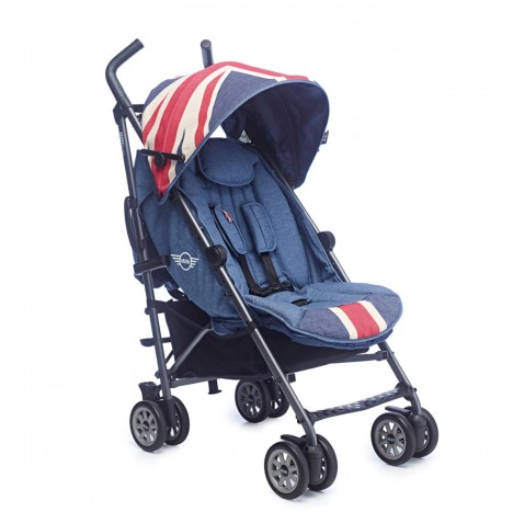 MINI by Easywalker Pushchair Buggy - Union Jack Vintage