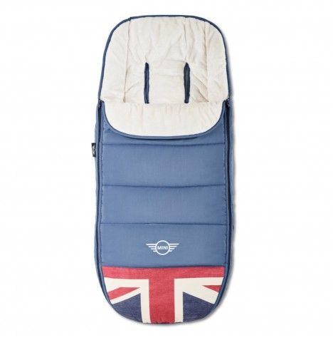 MINI by Easywalker Footmuff - Union Jack Vintage