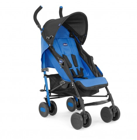 Chicco Echo Pushchair Stroller With Raincover - Power Blue