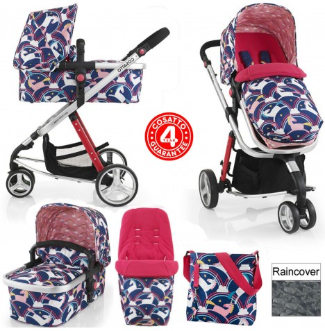Cosatto Giggle 2 Combi 3 in 1 Pushchair - Magic Unicorns