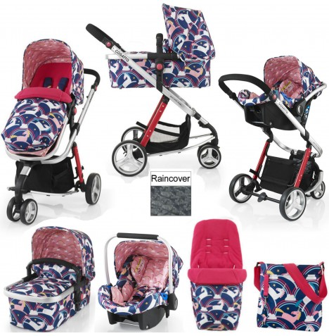 Cosatto Giggle 2 Combi 3 in 1 Travel System - Magic Unicorns