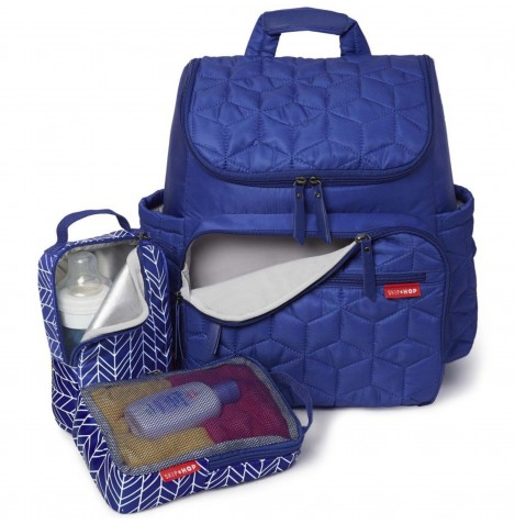 Skip Hop Forma Backpack / Changing Bag - Indigo