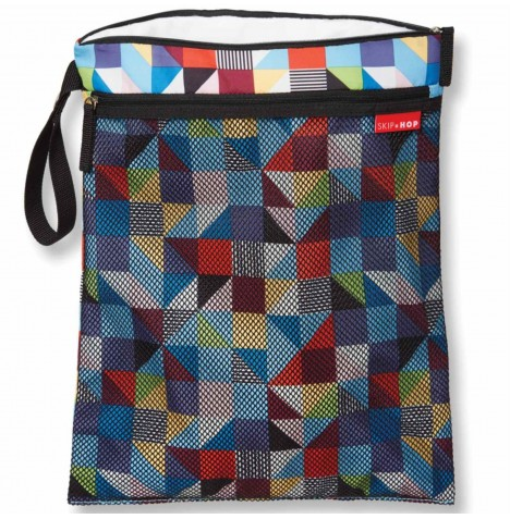 Skip Hop Grab & Go Wet / Dry Bag - Prism