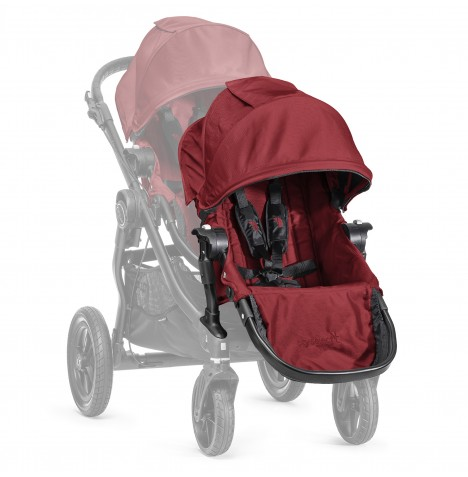 Baby Jogger Select 2nd Seat With Adaptor - Garnet