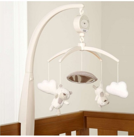 Mamas and Papas Musical Cot Mobile - Night Time Hugs