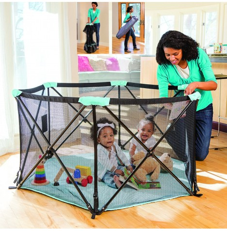 Summer Infant Pop n Play Deluxe Portable Playpen