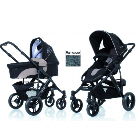 ABC Design Mamba 3in1 Pushchair - Safari..