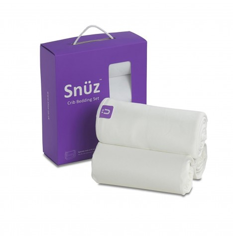 Snuz SnuzPod 3 Piece Crib Bedding Set - White