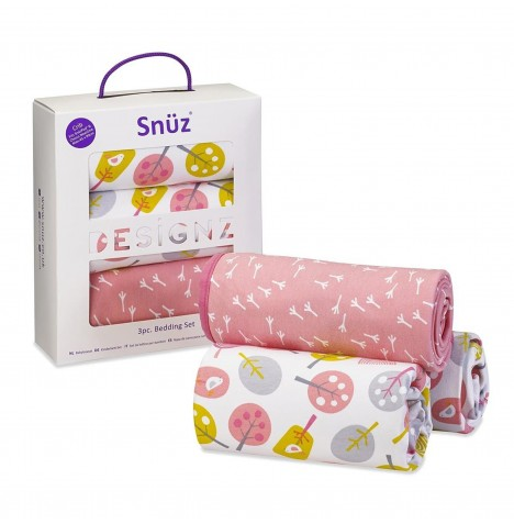 Snuz Crib Bedding Set - Little Tweets