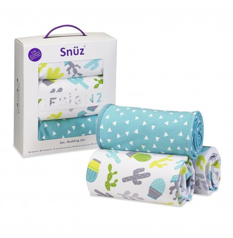 Snuz Crib Bedding Set - Rootin' Tootin'