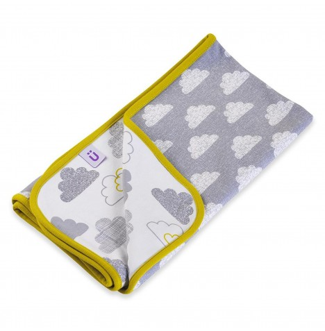 Snuz Reversible Baby Blanket - Cloud Nine