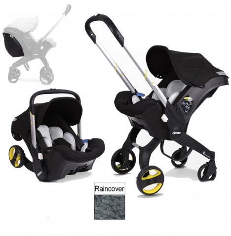 Doona Infant Car Seat / Stroller (Package 2) - Night