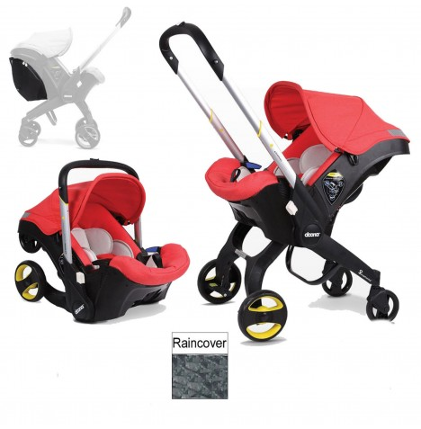 Doona Infant Car Seat / Stroller (Package 2) - Love