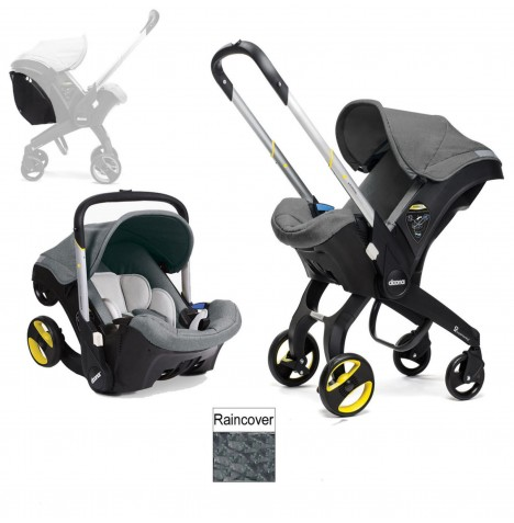 Doona Infant Car Seat / Stroller (Package 2) - Storm