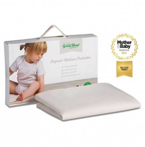 The Little Green Sheep Organic Crib Mattress Protector