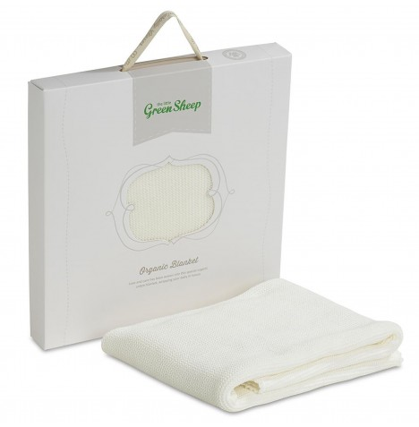 The Little Green Sheep Organic Jersey Fitted Sheet To Fit Stokke / Leander Cot - White