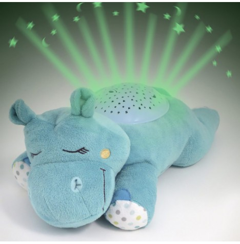 Summer Infant Slumber Buddies Nightlight Projector - Dozing Hippo