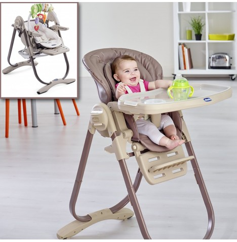 Chicco Polly Magic Highchair - Truffle..