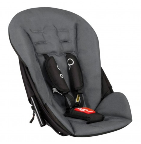 Phil & Teds Dot 2.0 Double Kit / Second Seat - Flint