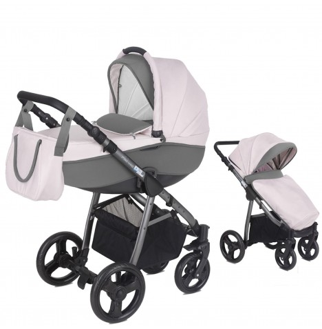 Mini Uno Stride 3 In 1 Pram / Pushchair - Candy