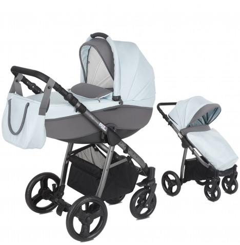 Mini Uno Stride Pram / Pushchair - Sky