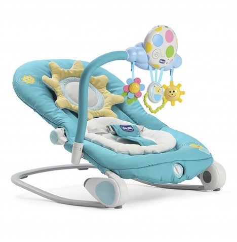 Chicco Balloon Baby Bouncer Rocking Chair - Turquoise