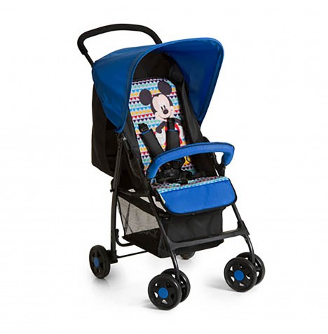Hauck Disney Sport Pushchair with Raincover - Mickey Geo Blue