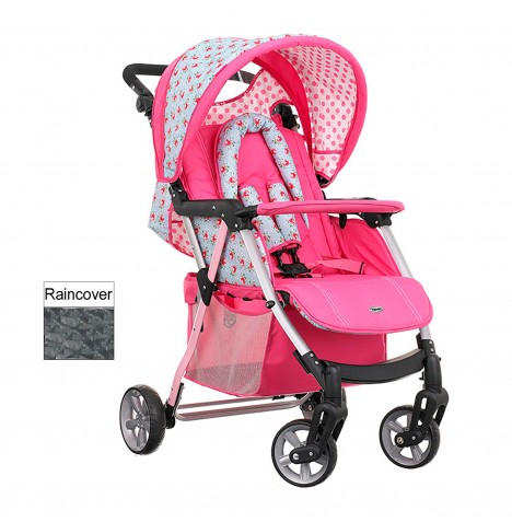 Obaby Hera Pushchair Stroller - Cottage Rose