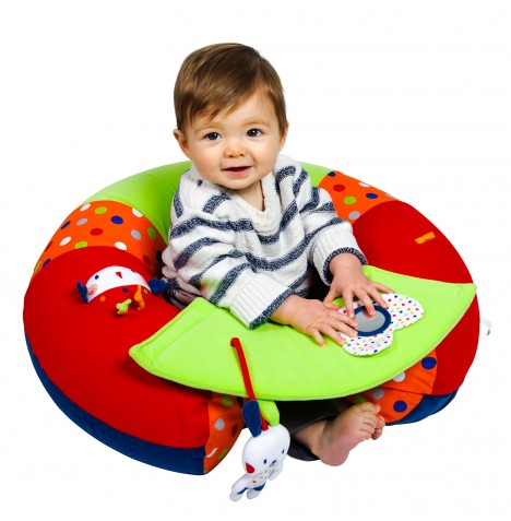New Red Kite Cotton Tail Sit Me Up Inflatable Baby