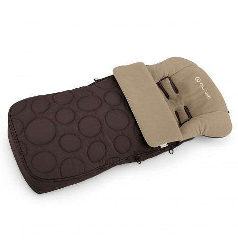 Concord Cocoon Pushchair Footmuff - Toffee Brown