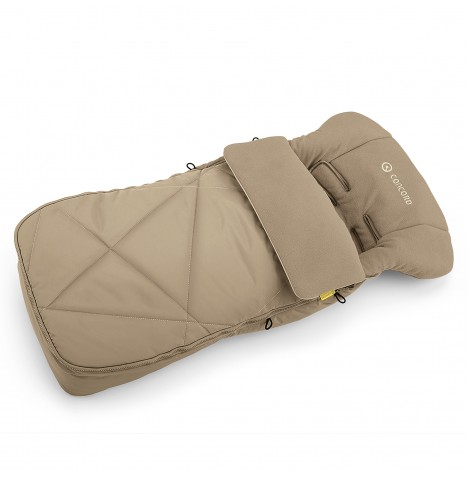 Concord Cocoon Pushchair Footmuff - Powder Beige