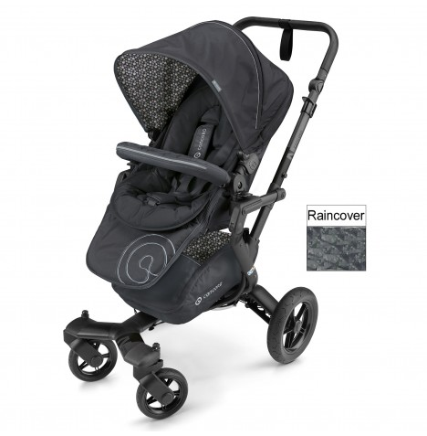 Concord Neo Pushchair Stroller - Cosmic Black