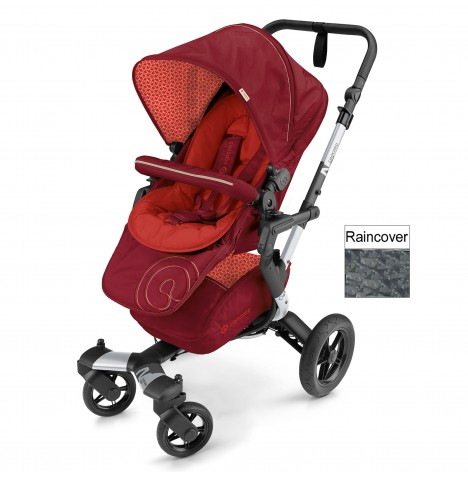 Concord Neo Pushchair Stroller - Flaming Red