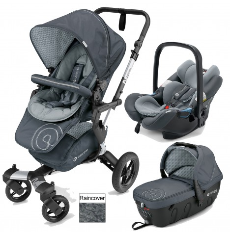 Concord Neo Travel Set Travel System - Steel Grey