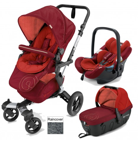 Concord Neo Travel Set Travel System - Flaming Red