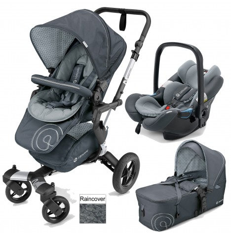 Concord Neo Mobility Set Travel System - Steel Grey