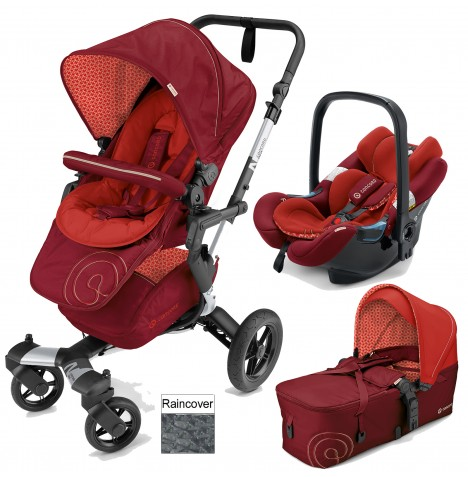 Concord Neo Mobility Set Travel System - Flaming Red