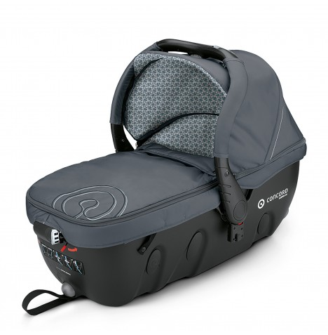 Concord Sleeper 2.0 Carrycot - Steel Grey