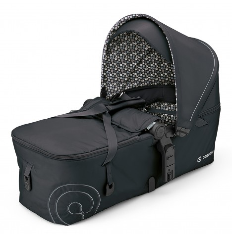 Concord Scout Folding Carrycot - Cosmic Black