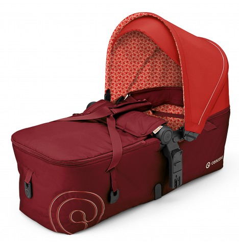 Concord Scout Folding Carrycot - Flaming Red