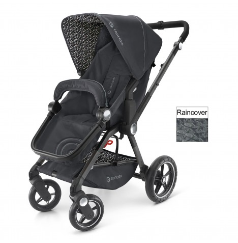 Concord Camnio Buggy Stroller Pushchair - Cosmic Black