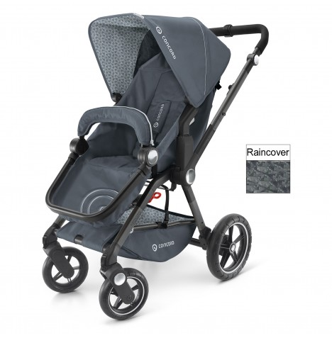 Concord Camnio Buggy Stroller Pushchair - Steel Grey