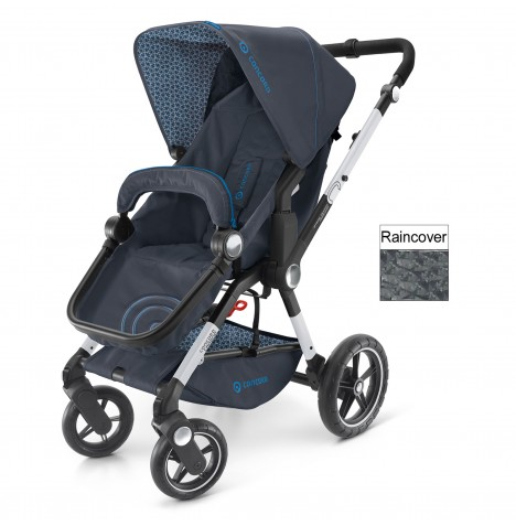 Concord Camnio Buggy Stroller Pushchair - Deep Water Blue