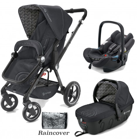 Concord Camino Travel Set Travel System - Cosmic Black