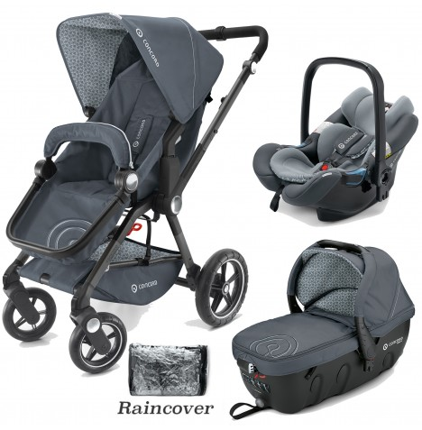 Concord Camino Travel Set Travel System - Steel Grey