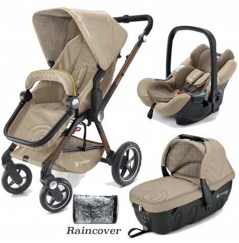 Concord Camino Travel Set Travel System - Powder Beige