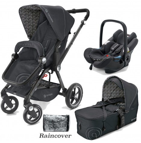 Concord Camino Mobility Set Travel System - Cosmic Black